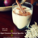 Apple Cinnamon Oatmeal Smoothie-featured