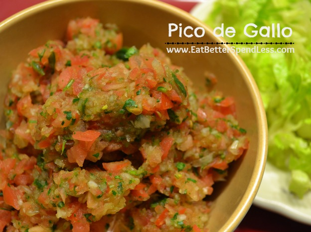 Pico de Gallo; easy, healthy, delicious