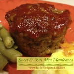 Sweet & Sour Mini Meatloaves