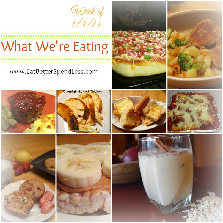 What We're Eating (My menu plan)