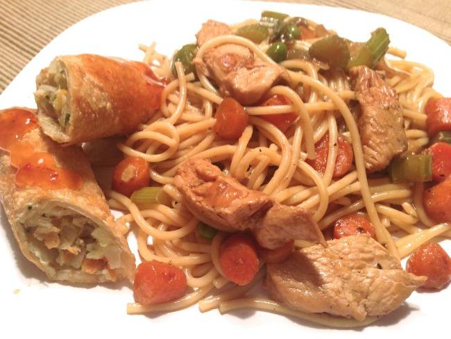 Chicken Lo-Mein-