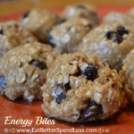 A quick and healthy snack that satisfies the craving for cookie dough!