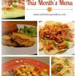 Monthly meal plan; healthy, and quick menus for the month of March