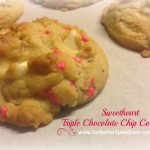 Sweetheart Triple Chocolate Cookies