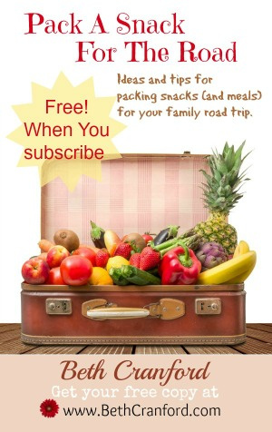 Free e-book; Pack a Snack for the Road