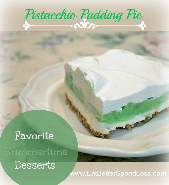 Pistachio Pudding Pie
