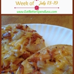 Meal Plan for July 13-19
