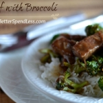 Beef with Broccoli-Skp the take-out!