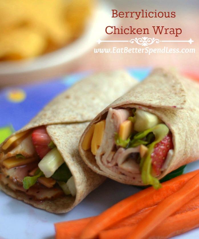 Berrylicious Chkcken Wrap