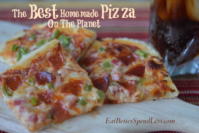 The Best Homemade Pizza on the Planet--And you can freeze the dough!