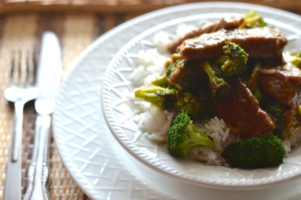 Beef With Broccoli-Super-affordable, easy to make, and better than take-out.