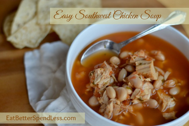 Easy Southwest Chicken Soup