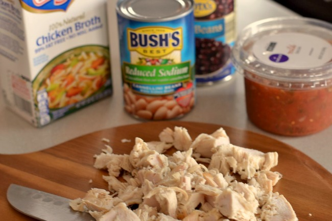 Easy Southwest Chicken Soup-ingr.