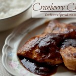 Getting tired of all your chicken recipes? How about a 20 minute meal that's healthy and elegant? This Cranberry Chicken Recipe will not disappoint.