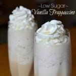 Low Sugar Vanilla Frappuccino-F