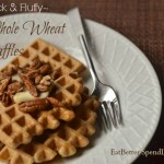 Thick & Fluffy Whole Wheat Waffles