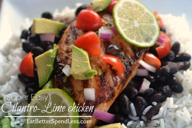 My whole family loved this  Cilantro-Lime Chicken. I loved how easy it was and how delicious and healthy it is. It's going on our list of family-favorites .