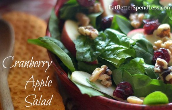 Cranberry Apple Salad-F